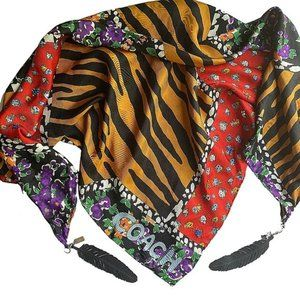 Coach Limited Edition Oversized Silk Scarf NWOT